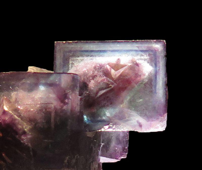 Gem color-zoned Fluorite (Soregaroli Coll.)