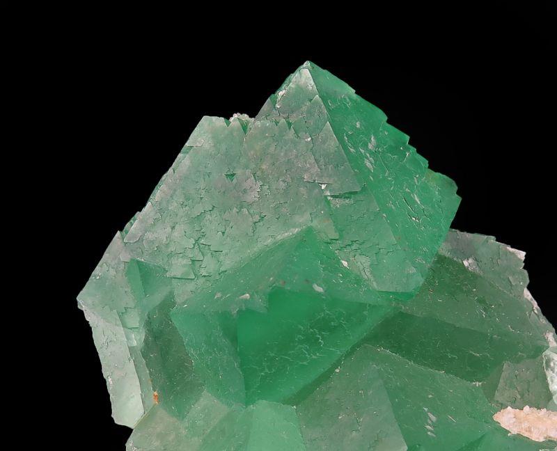 Fluorite octahedrons (fluorescent)