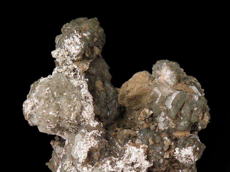 Apophyllite w/ Laumontite (classic PA) Schlichter Coll.