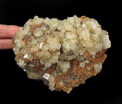 Fluorite w/ Siderite & Galena (rare combo)