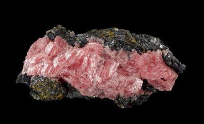 Rhodochrsoite & Sphalerite (rare combo)