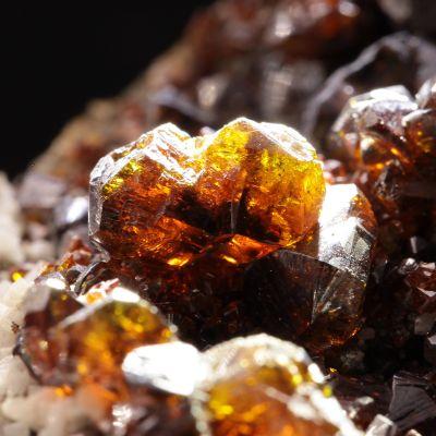 Sphalerite ('Ruby Jack') (fine crystals)