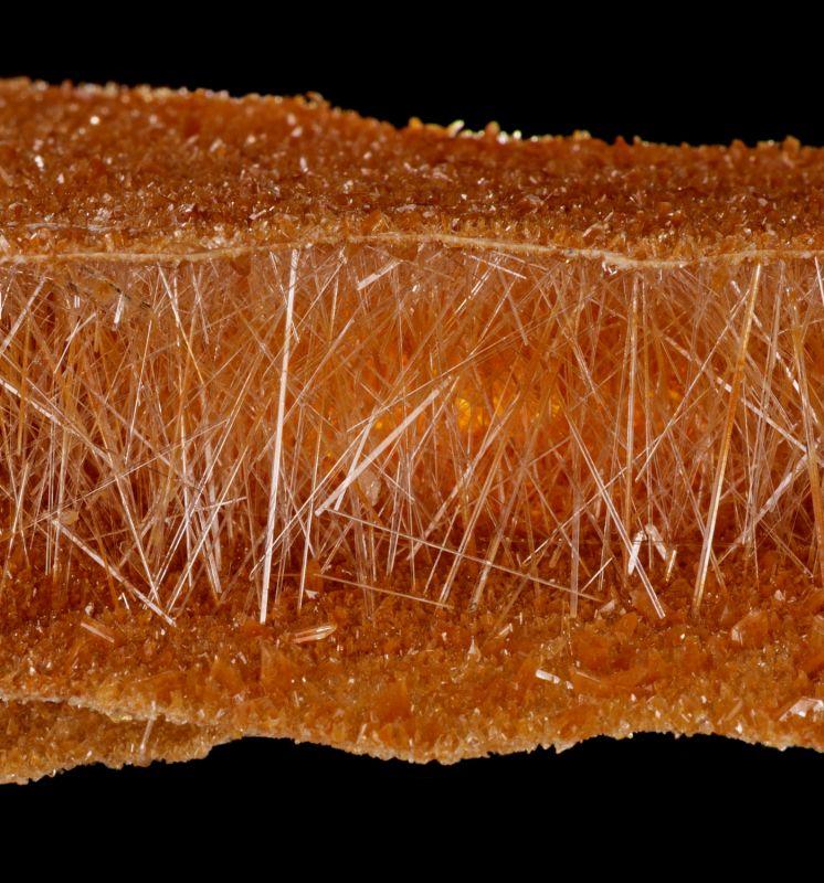 unusual layered Gypsum