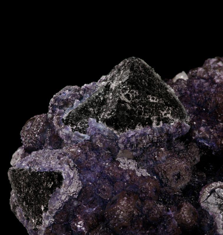Fluorite w/ Quartz (rare) Chet Lemanski Coll.