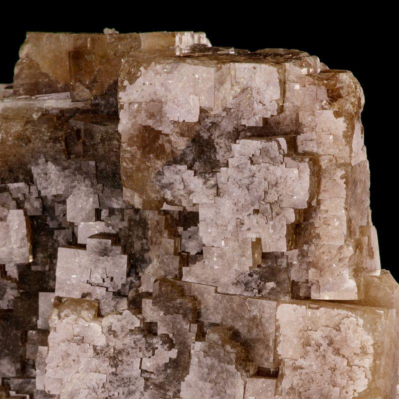 Fluorite w/ Celestine (old - 1940s!) Chet Lemanski Coll.