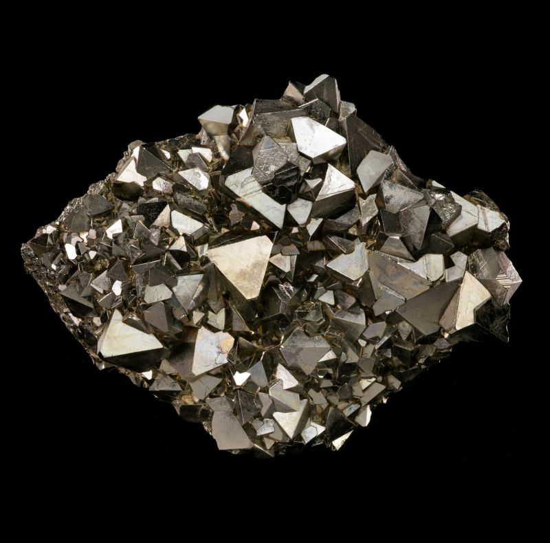 Pyrite (octahedral classic style)