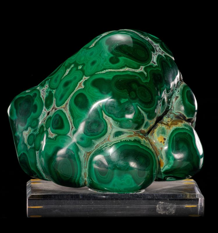Malachite (polished)