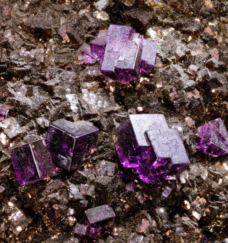 Fluorite on Fluorite (iridescent)