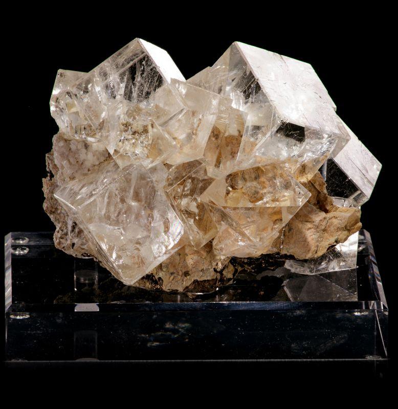 Fluorite - classic 'ice cubes' style