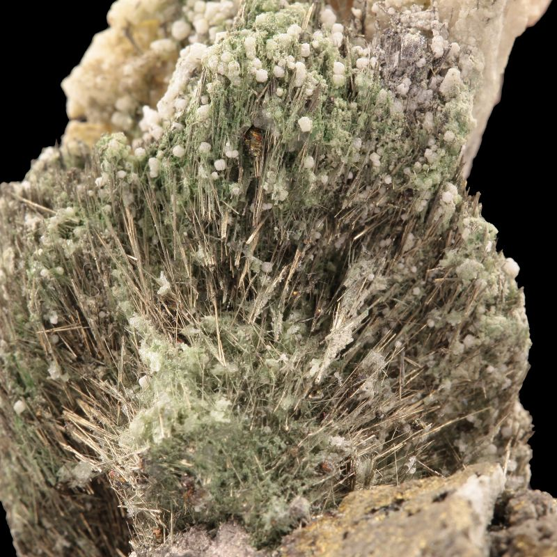 Millerite with Siegenite (rare locality specimen) (ex Raul Sanabria Orellana Collection)