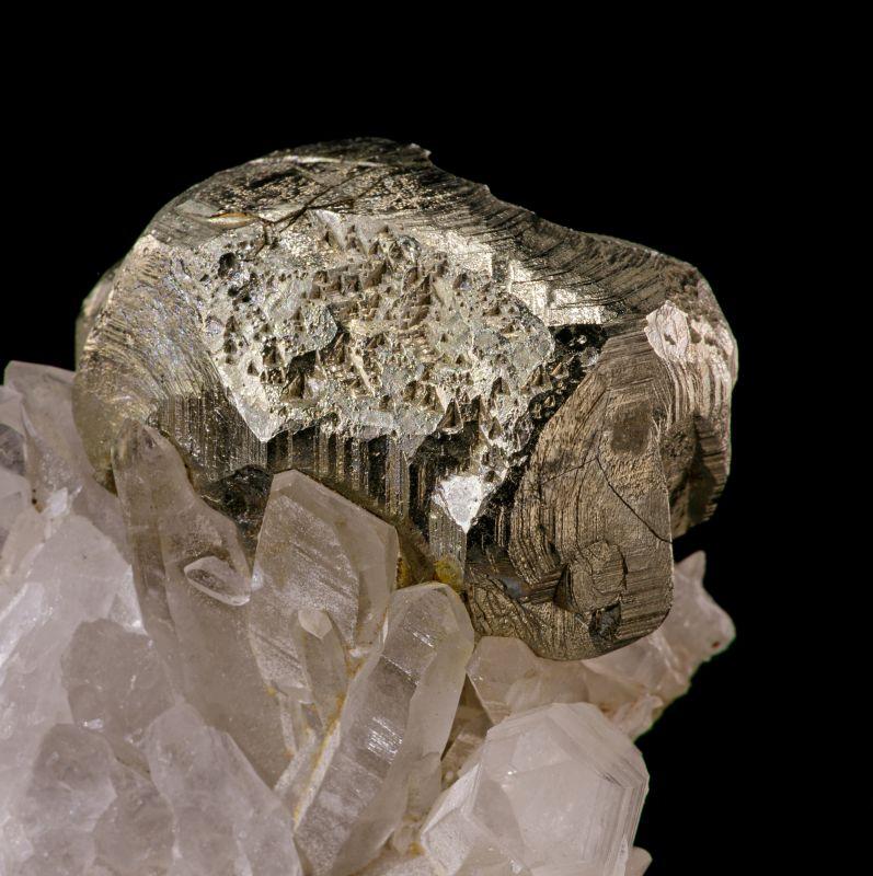Pyrite & Quartz (classic locale)