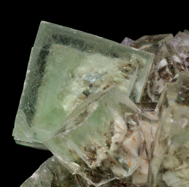 gem Fluorite xls w/ phantoms ex Lemanski Coll.