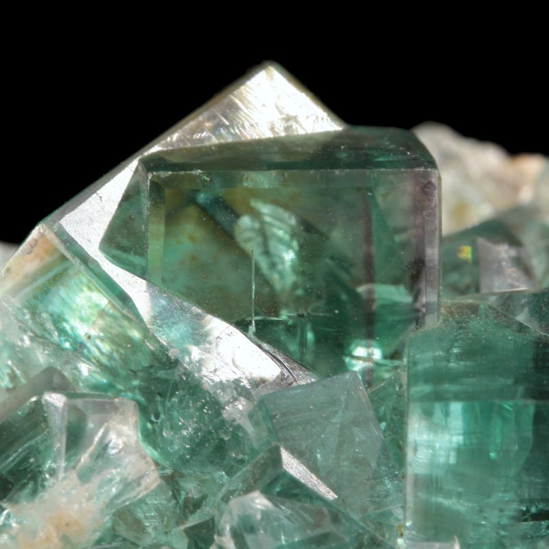 Fluorite (GEM penetration twins) (Mined in 1928) (ex Brian Kosnar Collection)