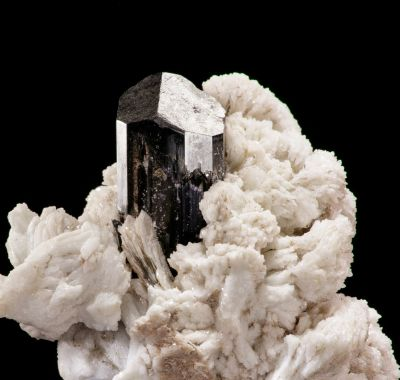 Schorl & Cleavelandite (rare - Bill Larson - selfcollected)