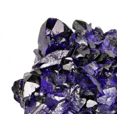Azurite (High luster crystals!)