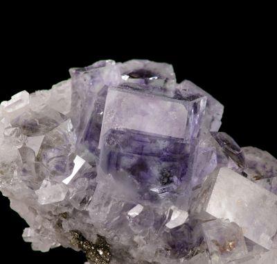 Gem bi-colored Fluorite & Quartz (old classic) ex Lemanski