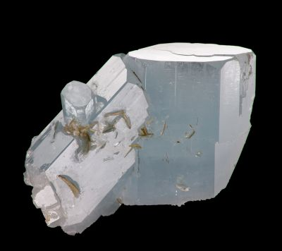 Aquamarine xls w/ Muscovite (NEW Find)
