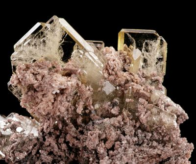 Baryte on Dolomite (mid-2000s finds) Richard Rossi Coll.
