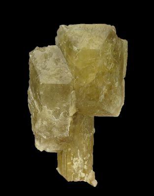 Unusual Baryte scepter (Zerfass coll.)