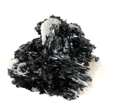 Pyrolusite  - superb crystals