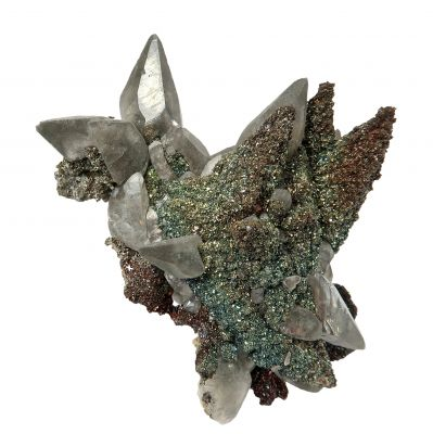 Calcite, Chalcopyrite, and Marcasite