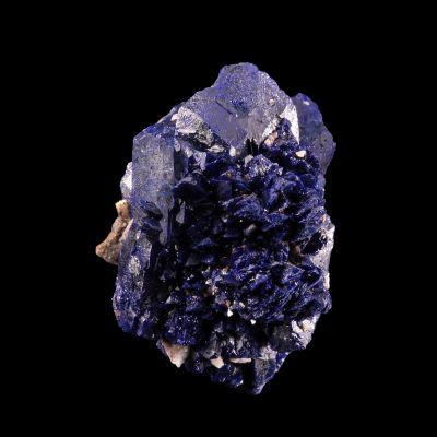 Azurite (''rose'') (ex Jack Halpern Collection)