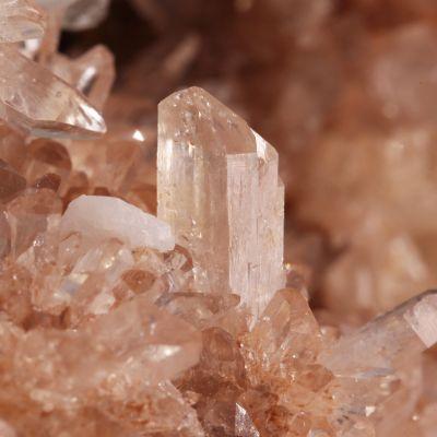 Creedite (attractive color) with Fluorite