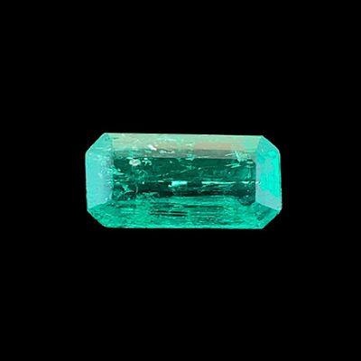 Emerald (superb color - rare locality)