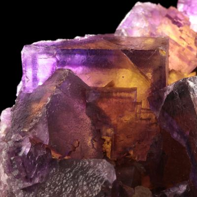 Fluorite (bi-color crystals) (ex Brian Kosnar Collection)