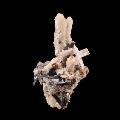 Barylite (rare excellent crystals) (ex Francesco Bedogné Collection)