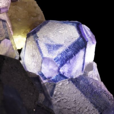 Fluorite on Calcite (ex Dr. Stephen Smale Collection)