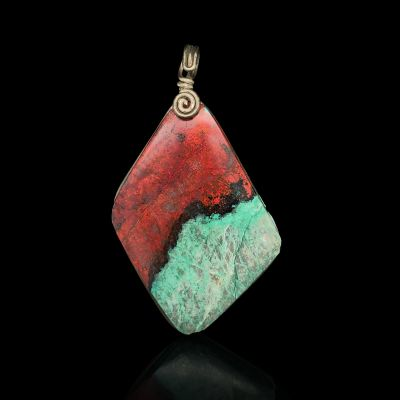 Sonora Sunset Stone Pendant in Sterling Silver