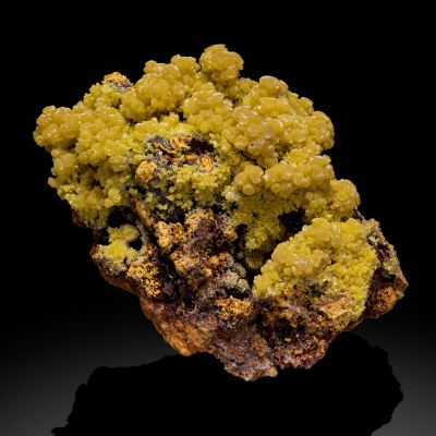 Mimetite  - unusual locale (Currier Collection)