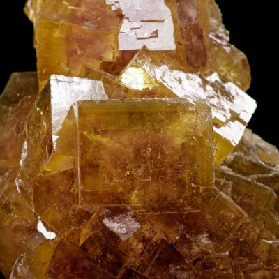 Gemmy color-zoned Fluorite xls (Lemanski Coll.)