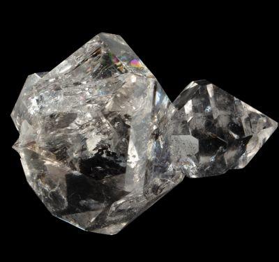 Quartz (Herkimer Diamond)  ex K. Williams