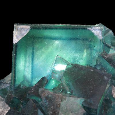 Fluorite (multi-color ''phantom'' crystals) (ex Chet Lemanski Collection)