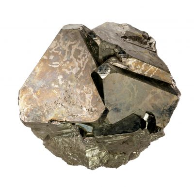 large Pyrite octahedrons