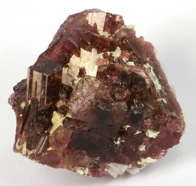 Gem Liddicoatite xls with Cleavelandite